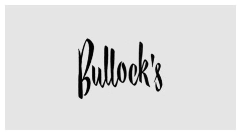 Bullock's 1940s wordmark: Logos Type, Defunct Department, Hand Lettered Logo, Handlettered Logos, Store Logotype, Graphic Design Typography, Store Logos, Department Stores, Typography Design