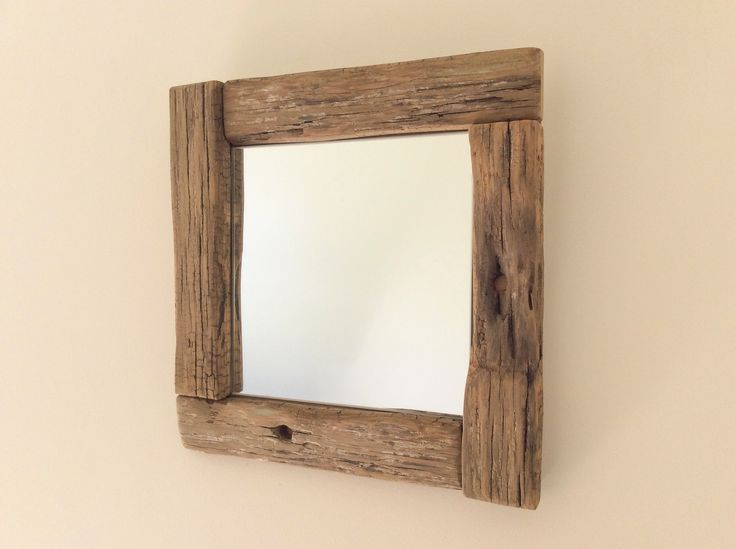 25 best ideas about miroir en bois on pinterest miroir for Atelier bois flotte