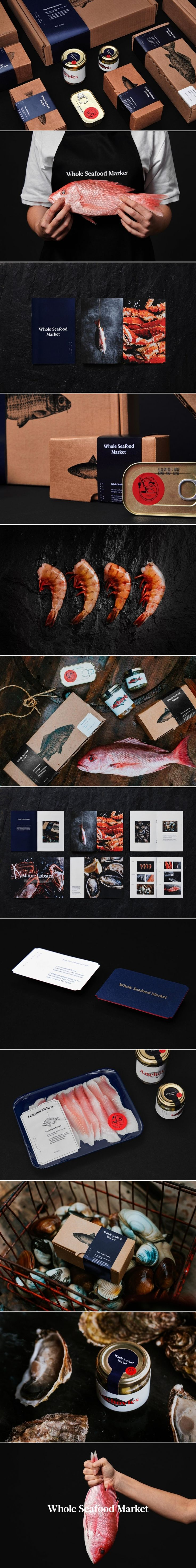 This Take on Seafood Packaging Comes With an Elegantly Modern Look — The Dieline | Packaging & Branding Design & Innovation News