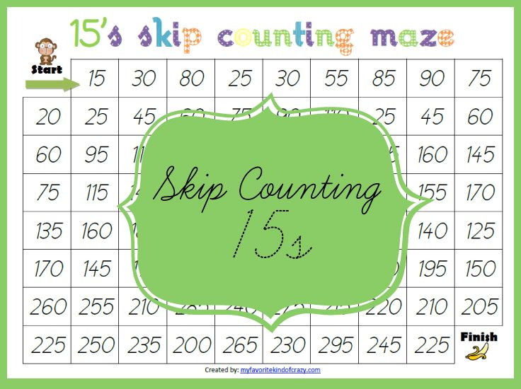 The 67 best images about skip counting/multiplication on Pinterest