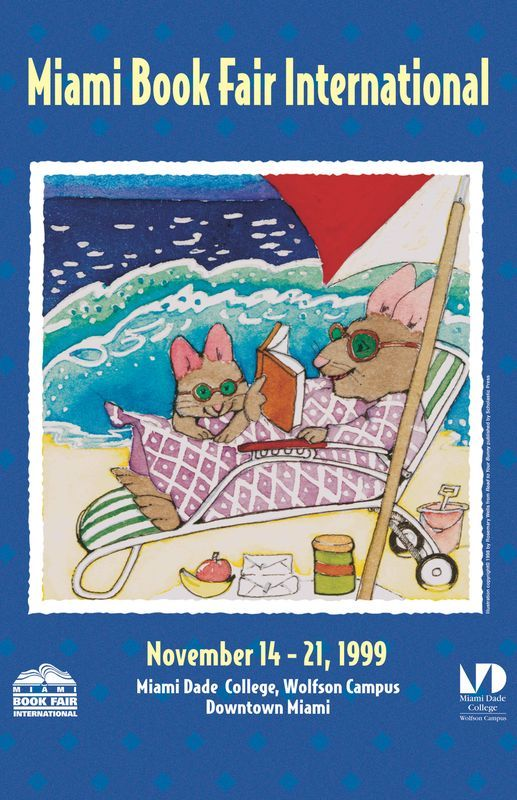 Adventures in Library Land: Book Fair Came to Town |Kitten Book Fair Posters