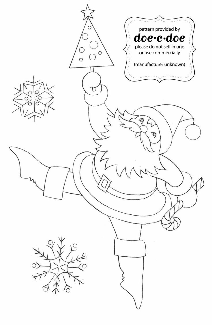 Christmas Felt Ornament PDF Sewing and Embroidery Pattern - Friends for  Tea. €5.50,