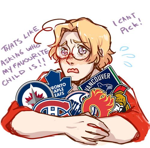 cute! .. wait what canada has Kids?<<<<I'm pretty sure he's talking about Hockey teams