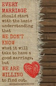 From the blog: The Most Important Marriage Advice I Could Ever Give - Kevin A. Thompson #engagement #wedding #marriage #quotes