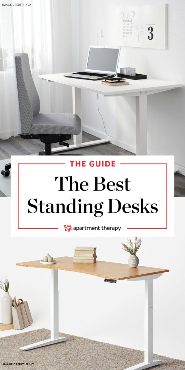 9 Of Our Favorite Standing Desks You Can Buy Now Best Standing Desk Home Office Layouts Home Office Design