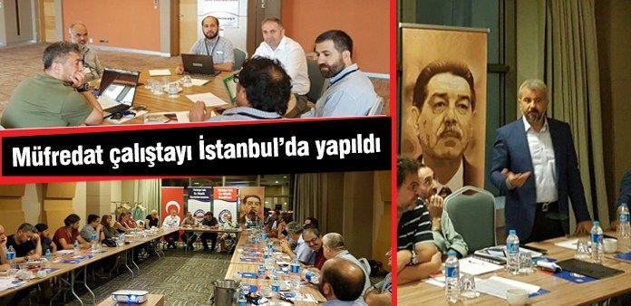 Müfredat çalıştayı İstanbul'da yapıldı