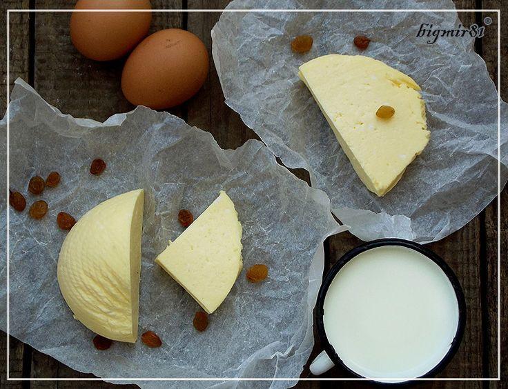 Сыр из яиц и молока