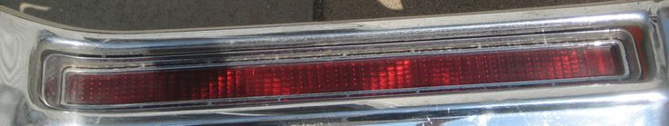 68 Buick Electra 225 Rear Left Light Assembly. Turn, Brake, Stop. #BUICK