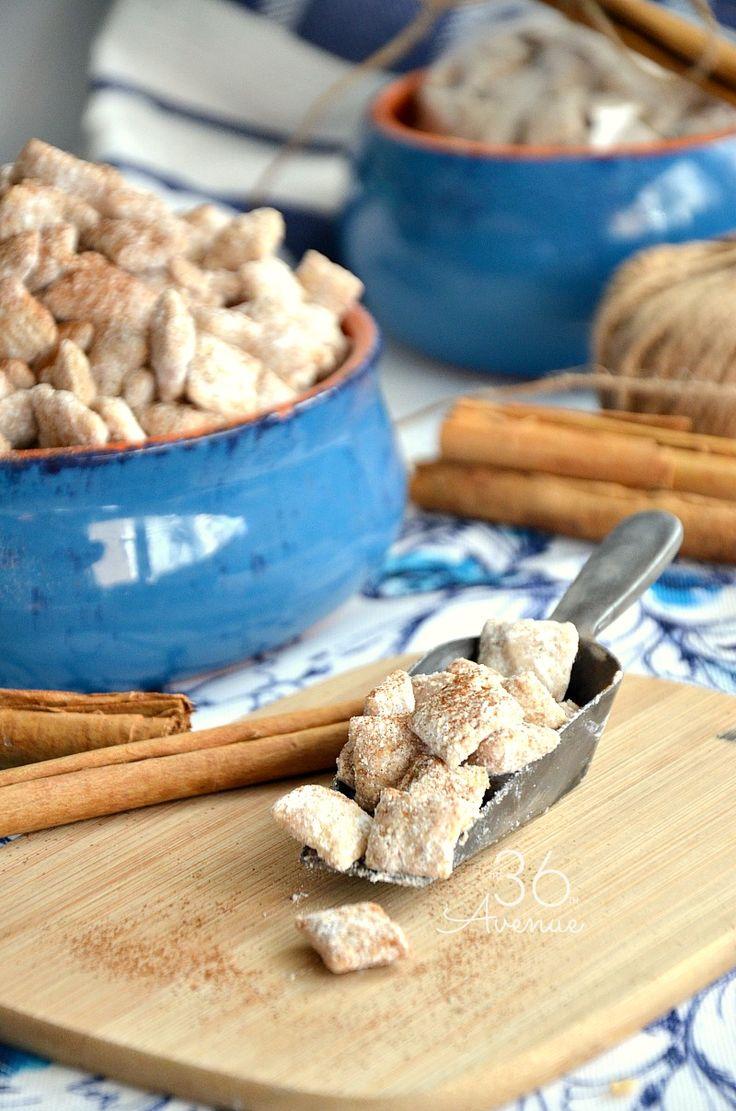 Churro Puppy Chow – Snack Recipe