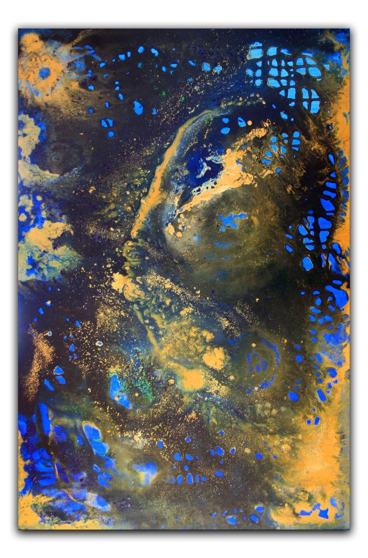 #acrylbilder #kunst #malerei #art #gemälde #originale #wandbilder #abstrakte NEU!! LIQUID PAINTING in Acryl auf Leinwand. 80x120x4cm - Eine Riesensauerei - aber auch ein Riesenspaß! BILD: UNIVERSUM www.burgstallers-art.de/online-shop/abstrakte-kunst
