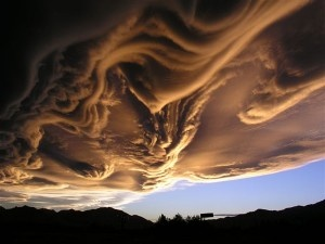 Jacques cousteau clouds very unusual