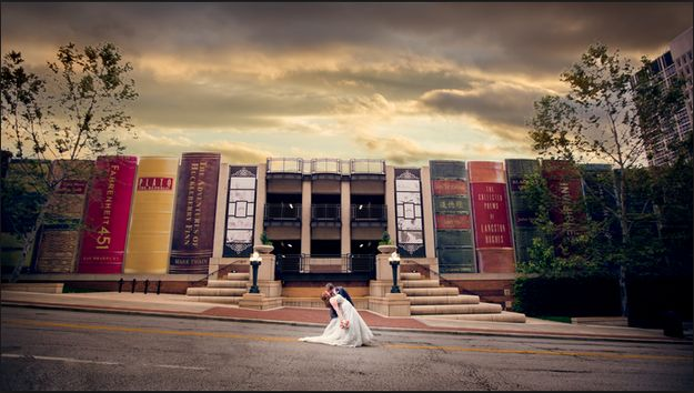 The Kansas City Public Library, Kansas City, Missouri   19 Jaw-Dropping Wedding Venues For Book Lovers