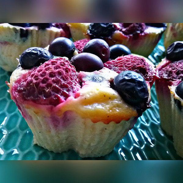 Skyr Muffins – die perfekte Kuchenalternative für alle WWler, nur 1/2 SP pro …