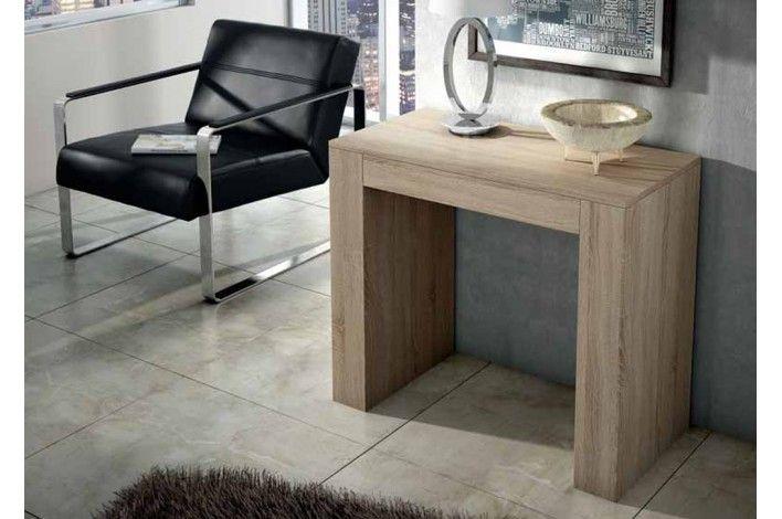 Una consola o una mesa de comedor y por qu no las for Mesa consola extensible