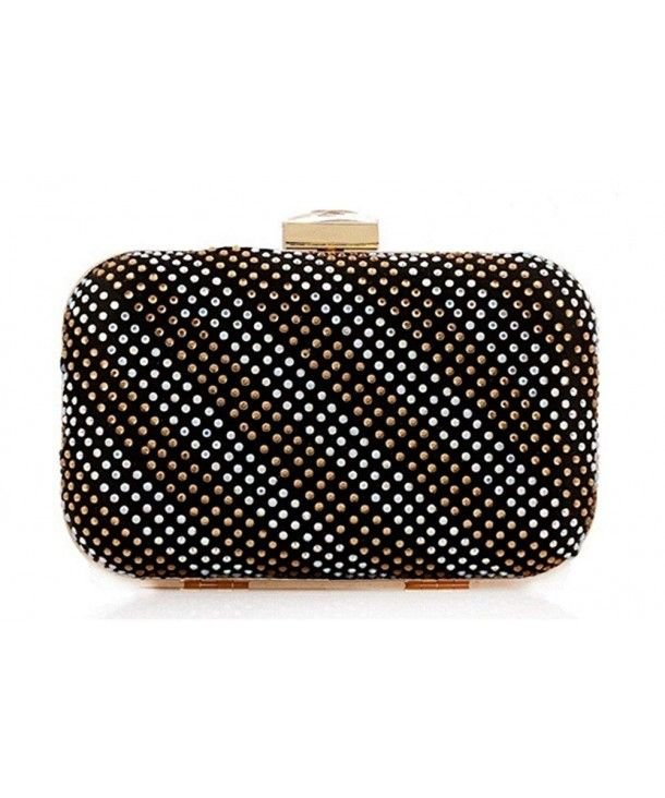 a9ab5f2d9a Women's Bags, Clutches & Evening Bags,Womens Sparkly Mini Crystal Stud Evening  Clutch Hardbox Bag for Party Clasp - Black - C212LRHRYPF #BAGS #Handbags ...