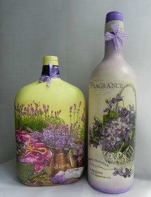 decoupage / bottle  (306×400)