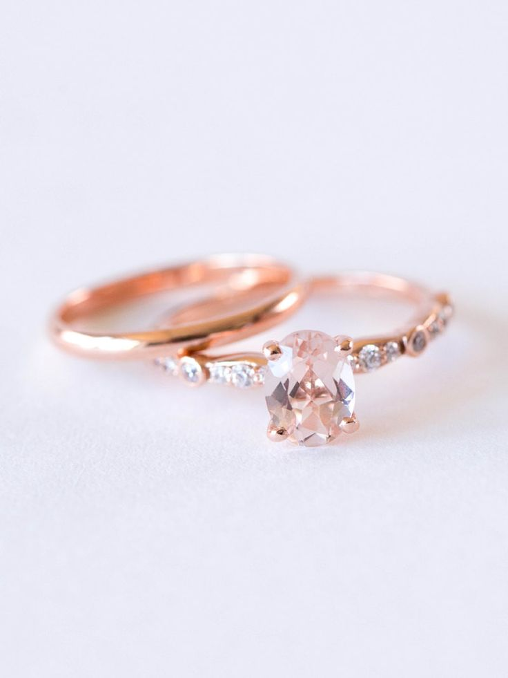 Morganite Engagement Ring Under $1000