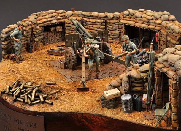Greetings for NVA | Dioramas and Vignettes | Gallery on Diorama.ru