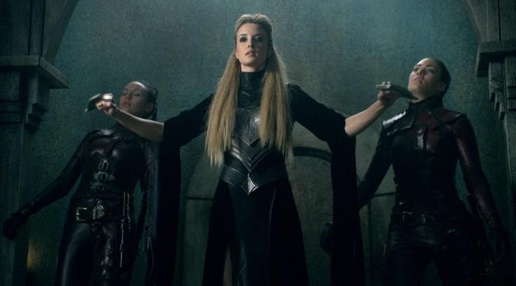 Sister Nicci - Legend of the Seeker. One Badass Sorceress.