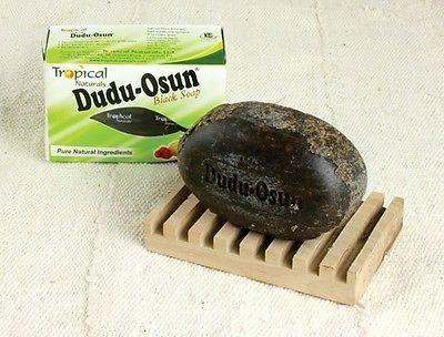 2 x Dudu Osun African Black Soap 150g for eczema, Acne, fungus
