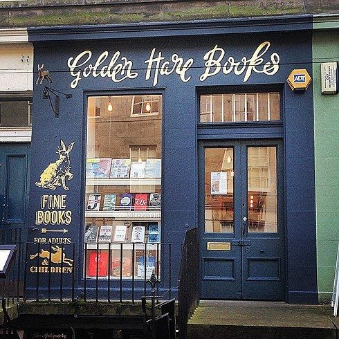 Golden Hare Books | 15 Charming Edinburgh Bookshops You Must See Before You Die