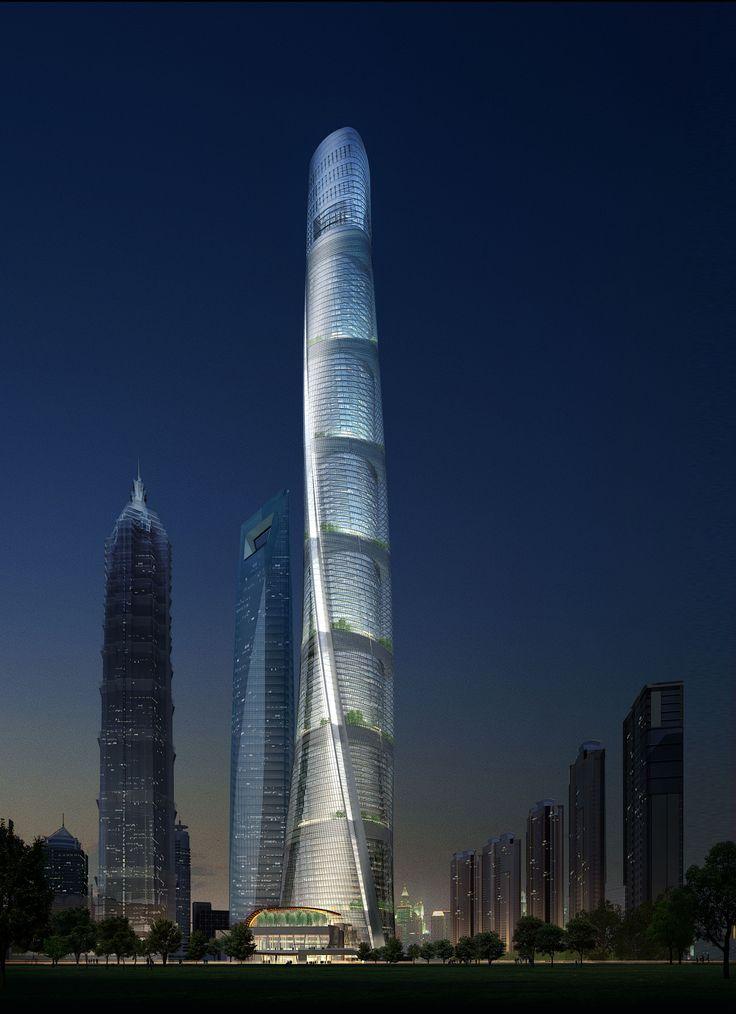 Shanghai Tower HD Wallpapers Download Free Shanghai Tower