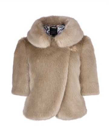 Ted Baker Oscai faux fur jacket, £199