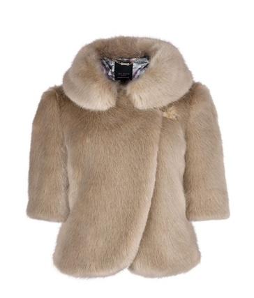 Ted Baker Oscai faux fur jacket, £199