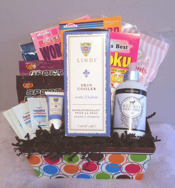 Gift Baskets for Cancer Patients undergoing Radiation Therapy Treatments – Filled with Special Items to help them cope with the symptoms and mental stress of  radiation treatments from Rock The Treatment Patient Gift Baskets.