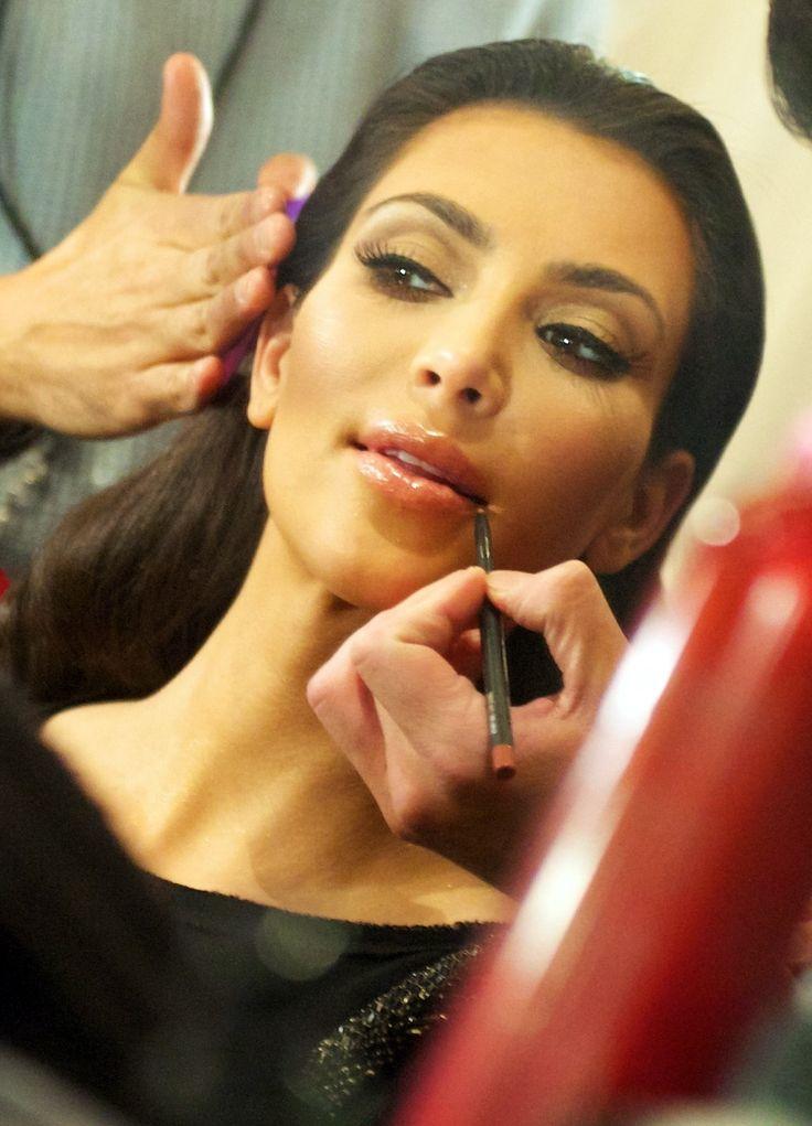 Shine Beauty Beacon: Kim Kardashian Feel Pretty Lash & Lip Look - The HydroPeptide Lip Plumper may be the secret to achieving her pretty pout!