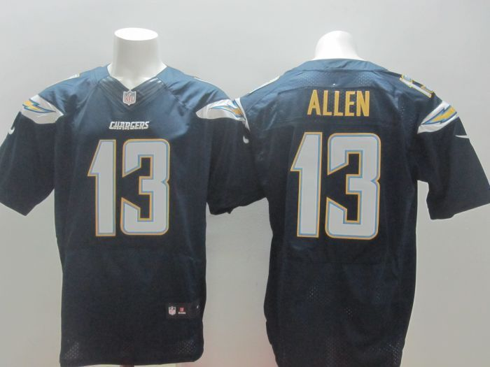 San Diego Chargers #13 Keenan Allen Dark