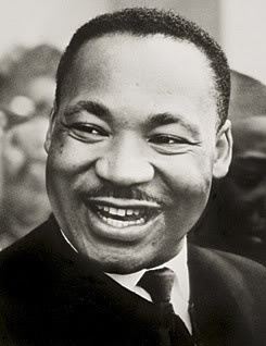 A man can't ride your back unless it's bent. ~ Martin Luther King Jr.