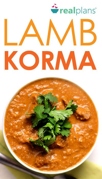 Slow cooked in a robust sauce, this Lamb Korma is tender and juicy.  Serve over cauliflower rice for an easy but satisfying meal.