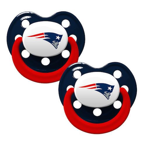 New England Patriots 2pk Baby Pacifier