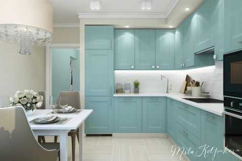 Проект квартиры в Марьино от дизайнера Милы Колпаковой