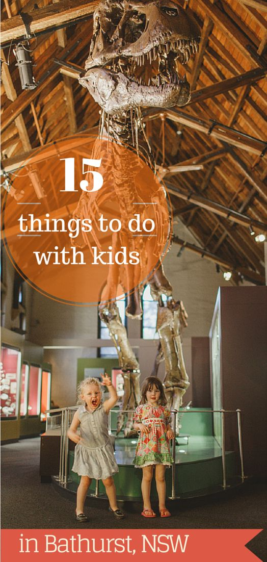 15 Things to do with Kids in Bathurst. Just a 2.5 to 3 hour drive from Sydney, find a great list of things to do with children on this post.