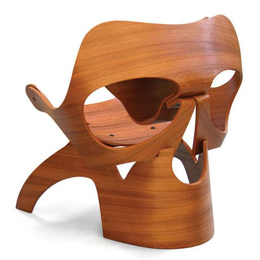 Unusual Chair With High And Thorny Back Seat. See More. Vladi Rapaport |  Skull Chair