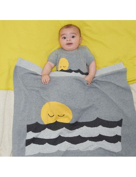 Bonnie Mob Baby Onesie and light blanket - the perfect summer baby shower gift...Available now on the PG