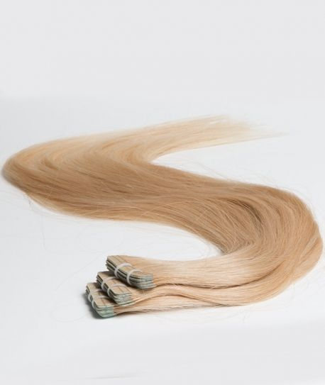 Extensions adhésives Tie and Dye blond miel