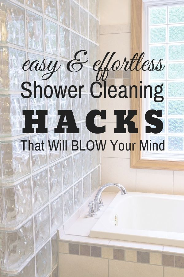 Cleaning Glass Shower Doors Hacks Cleaning Glass Shower Doors