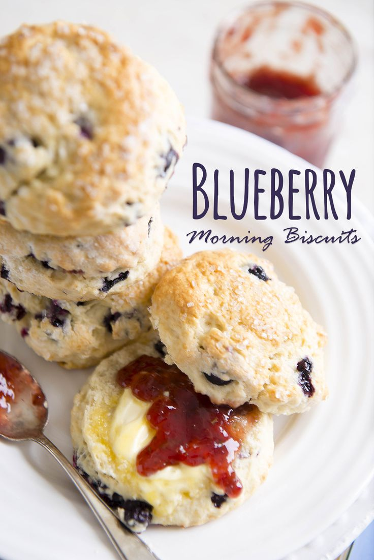 Southern biscuit meets American scone in this blueberry-filled morning splurge. Its not-too-sweet attitude leaves plenty of room for a generous honey drizzle or your favorite jam. A little salted butter never hurts!