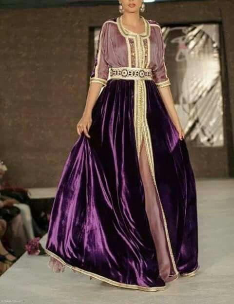 Caftan purple