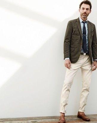 https://lookastic.com/men/olive-blazer/looks