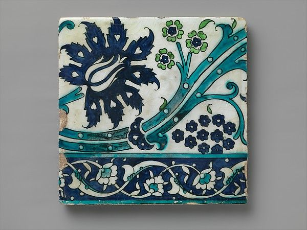 Tile | second half 16th century | Syria, Islamic
