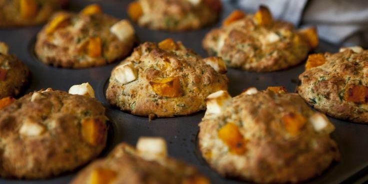 Kitchenette - Feta-dýňové muffiny