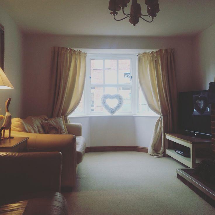 #livingroom #neutral #interiors #baywindow