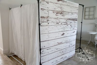 Shabbyfufu: Revisting....$99 Spare Room......Romantic Shabby Chic Style.  Ive often thought about how I could make a secret space for company, since we really only have one spare room and I usually have 2 or more guests.  I LOVE THIS....