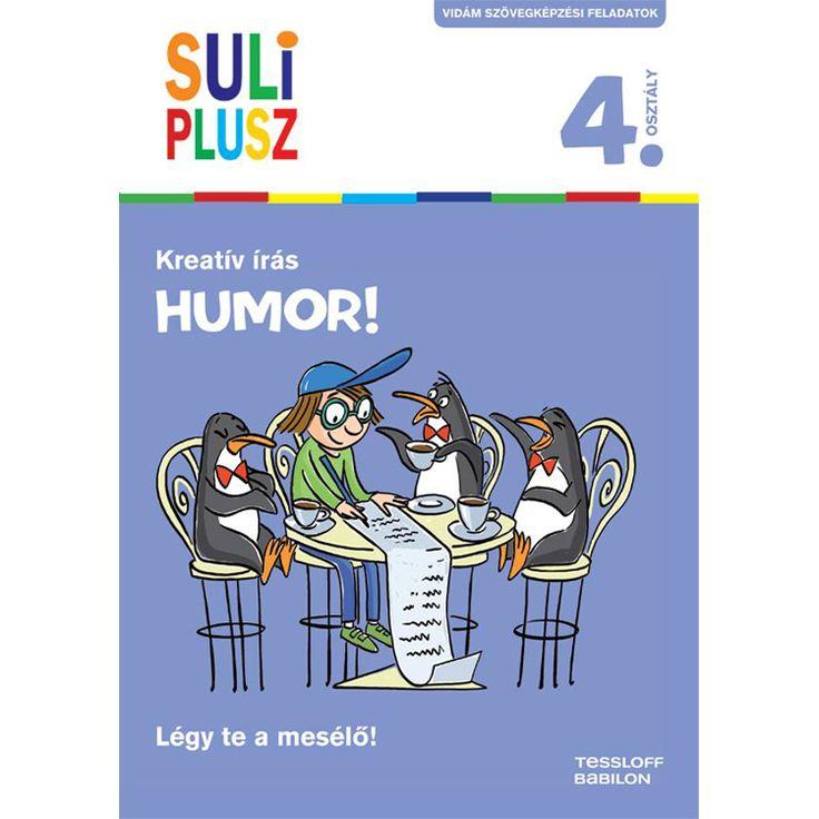 Suli plusz Kreatív írás - Humor!
