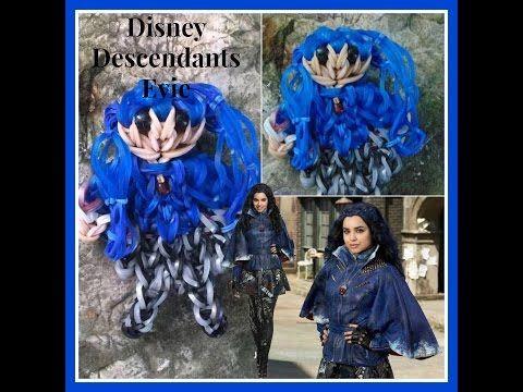 Rainbow Loom Disney Descendants Evie Tutorial - YouTube