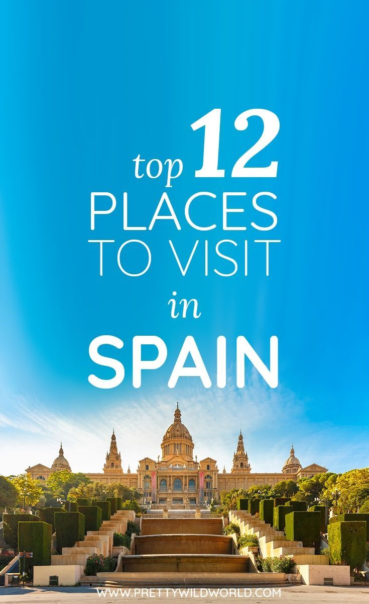 #Spain #TravelToSpain #Travel #Europe Are you planning or want to visit Spain for a lovely holiday? Here're the top places to visit in Spain worth checking out and you don't know – maybe your next trip will be in one of these!
